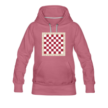 Load image into Gallery viewer, Chess Board Hoodie - mauve