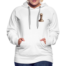 Load image into Gallery viewer, Chess Pawn Hoodie - white