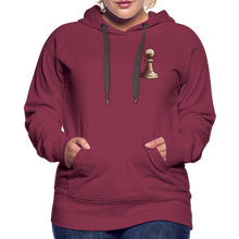 Load image into Gallery viewer, Chess Pawn Hoodie - burgundy