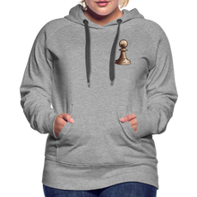 Load image into Gallery viewer, Chess Pawn Hoodie - heather gray