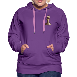 Chess Pawn Hoodie - purple