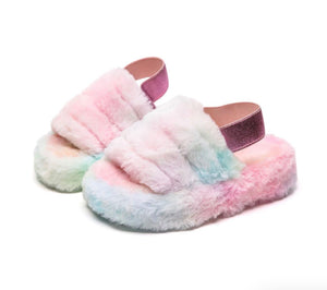 BELLE SLIPPERS RAINBOW