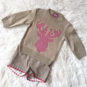 9031 BOYS JUMPER SHORT SET