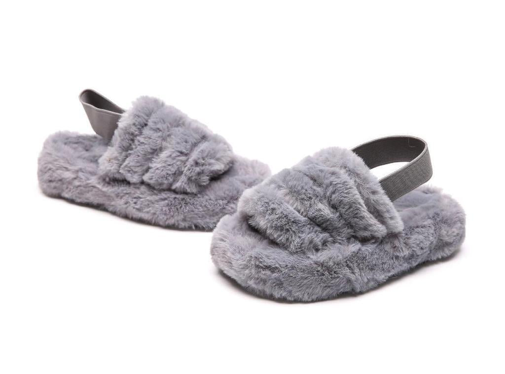 BELLE SLIPPERS GREY