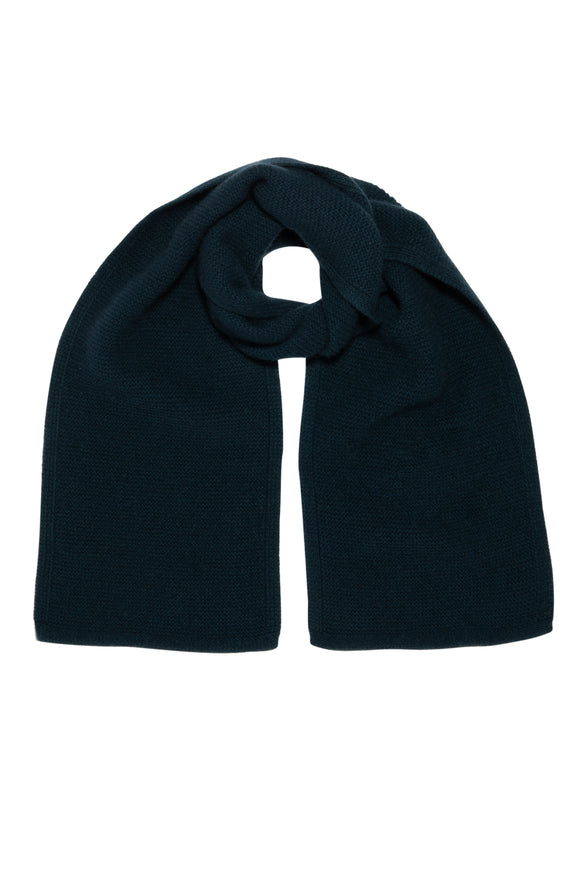 Bottle Green Pure Cashmere Scarf