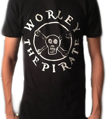 Worley The Pirate Logo T-Shirt