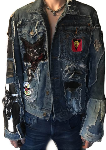 Jean Jacket with Patchwork