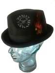 Black Worley the Pirate Fedora Hat