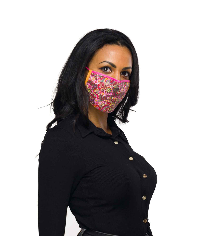 printed mask for girls