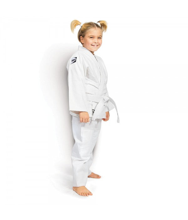 GREEN HILL JUDODRAKT KIDS, HVIT