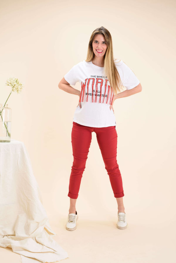 Remera WORLD, Blusa, Camisas y Remeras, Viviana Mendez