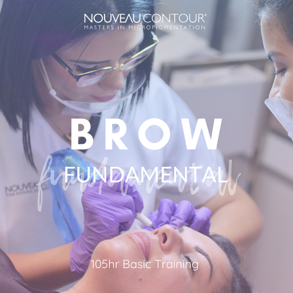 Brow Fundamental Training - Micropigmentation + Microblading (Training Only)