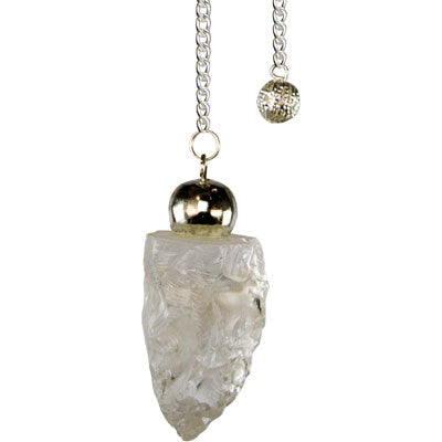 Pendulum, rough Quartz