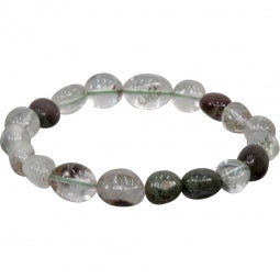 Gemstone Bracelet, Phantom Quartz