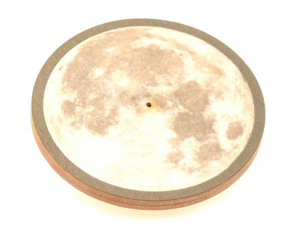 Burner, Wood Round Moon