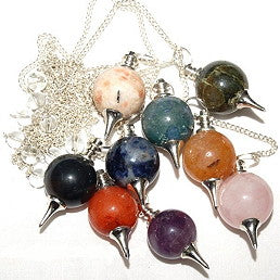 Pendulum, Gemstone and Metal