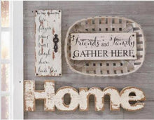 Load image into Gallery viewer, IN OUR HOME Wood Wall Sign