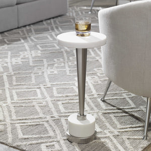 MASIKA WHITE DRINK TABLE