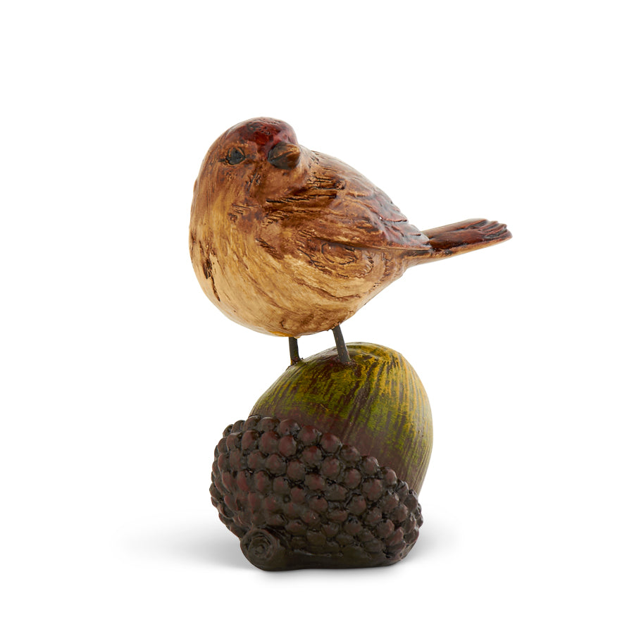 Bird on an Acorn, Set of Two