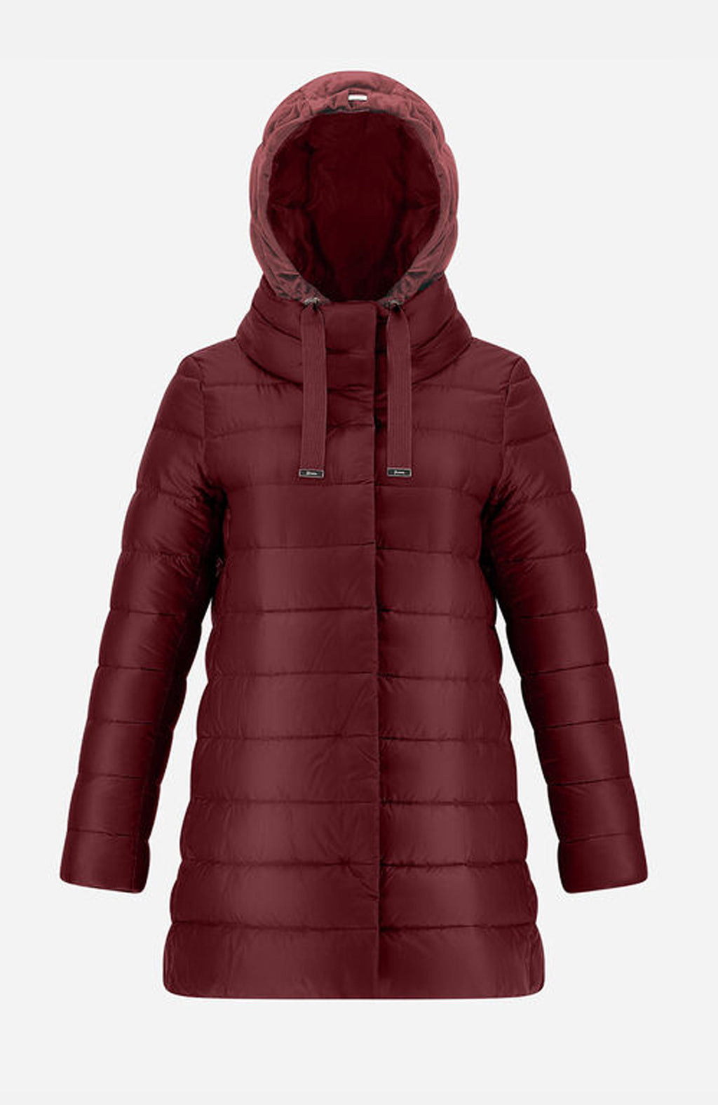 Herno Burgundy Ultralight A-Shape Puffer Jacket