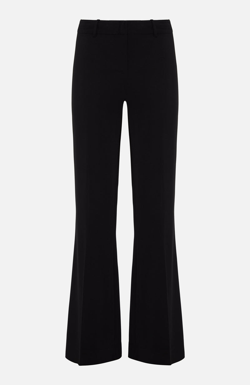 Kobi Halperin Melina Black Wide Trousers