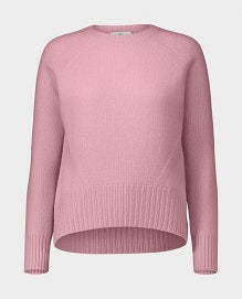 Allude Crew Neck Pink Sweater