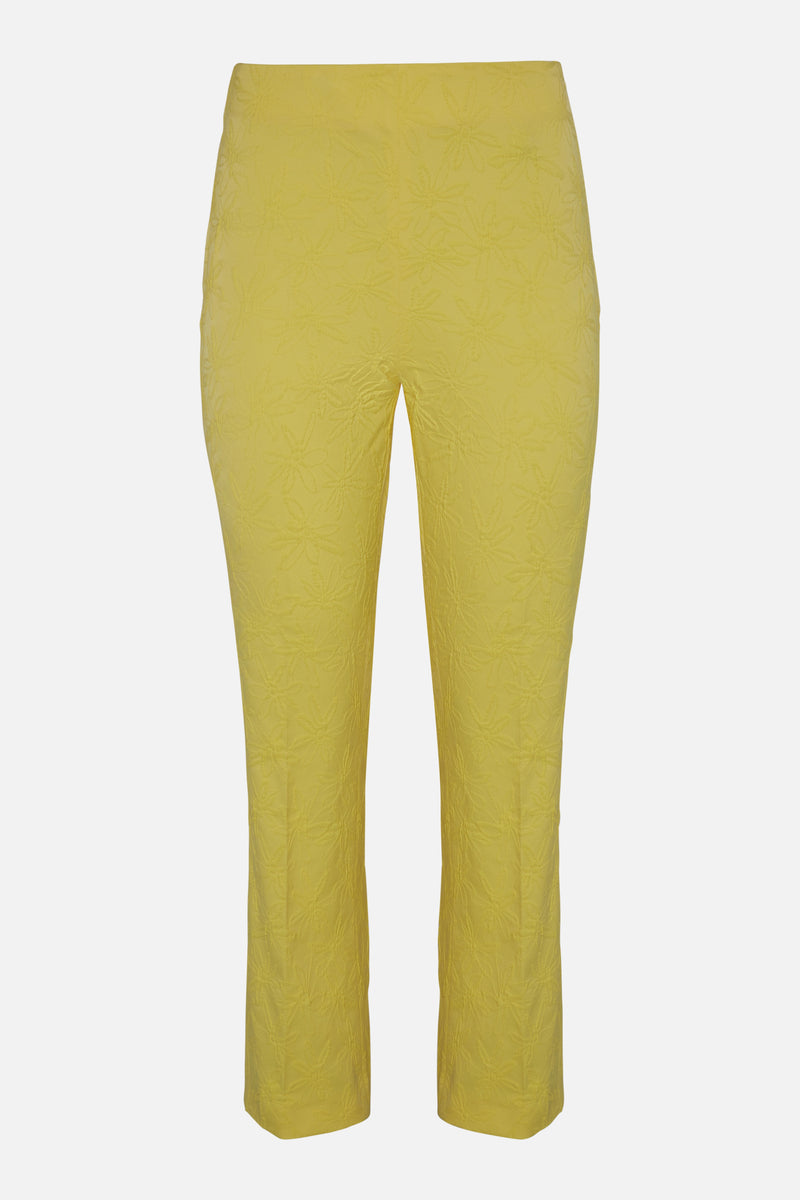 Vivetta Yellow Stretch Trousers