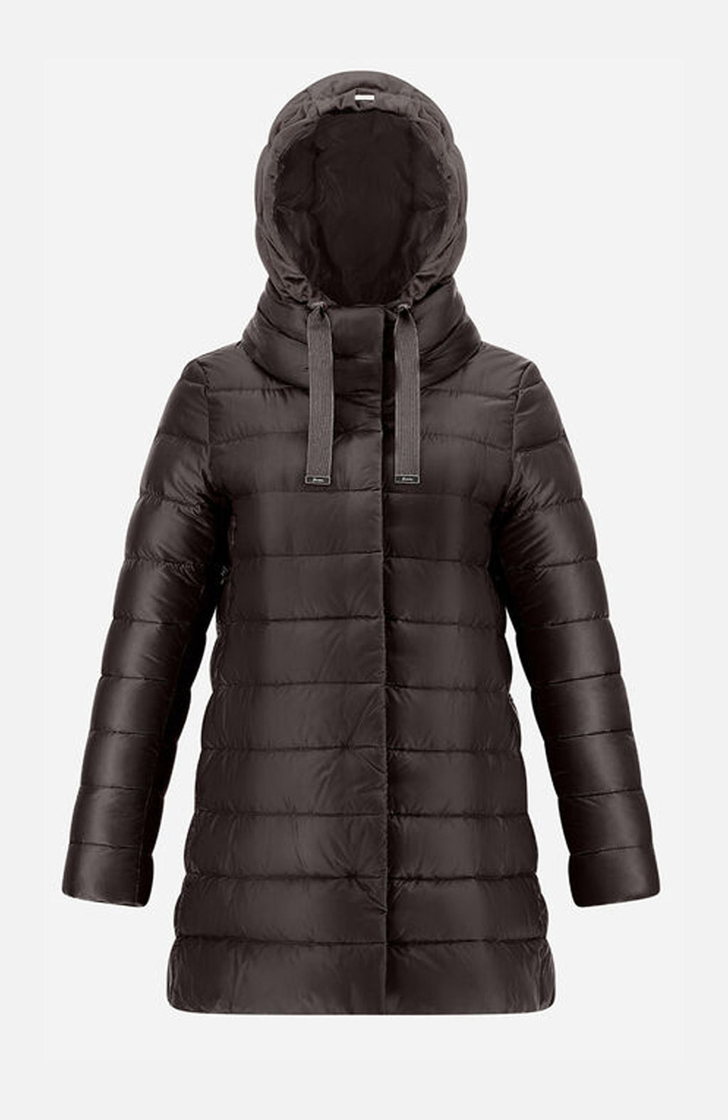 Herno Chocolate Ultralight A-Shape Puffer Jacket