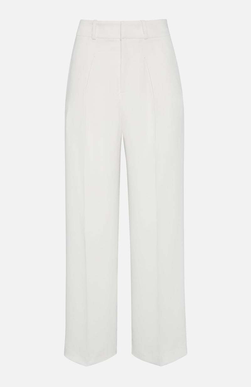 Parosh Panter Off White Smart Trousers