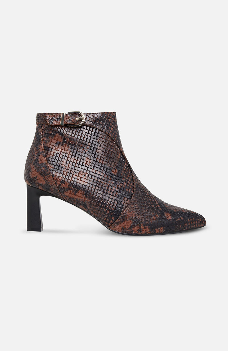 Joie Rawly Python Print Ankle Boots