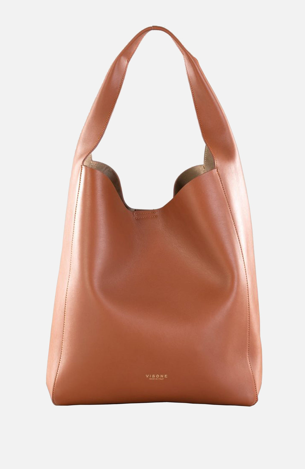 Visone Brown Elisabeth Shoulder Bag
