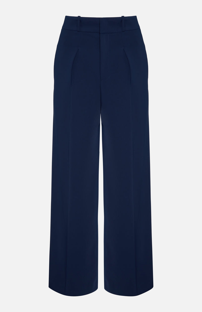 Parosh Panter Blue Smart Trousers