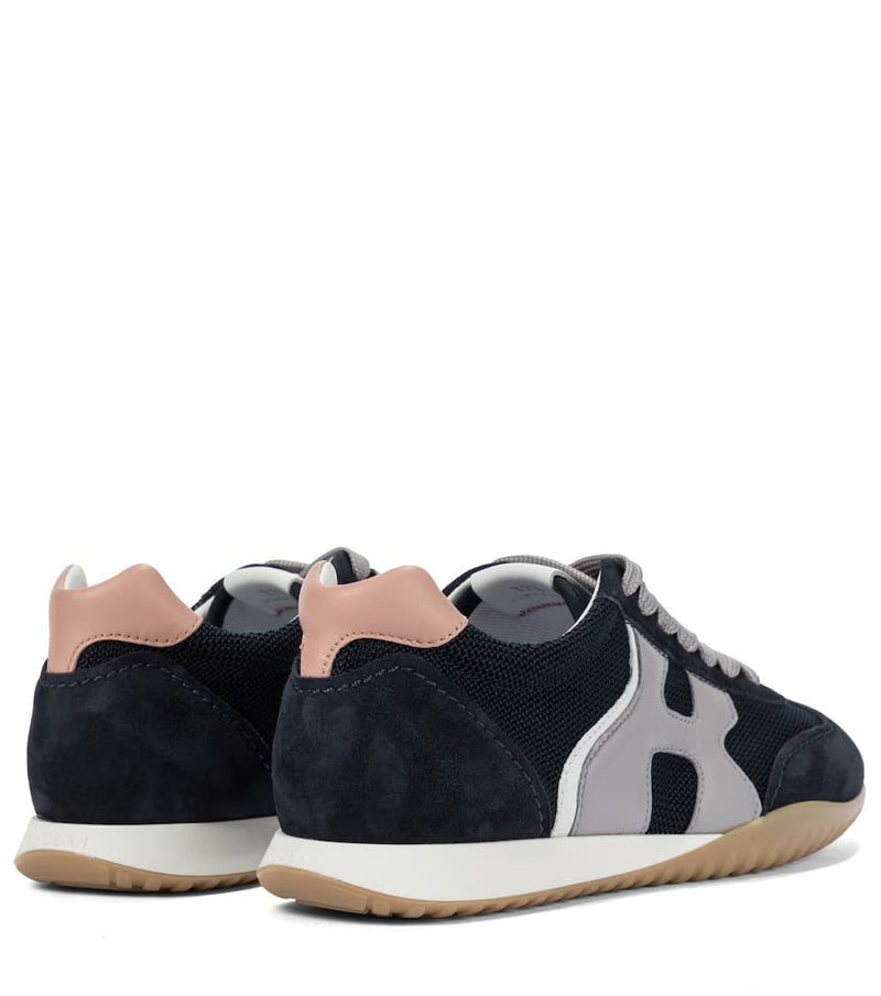 Hogan H565 Navy/Grey Sneakers