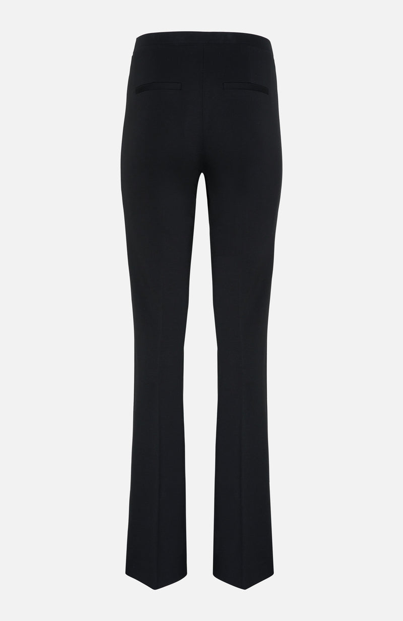 Kobi Halperin Black Flared Knit Pants