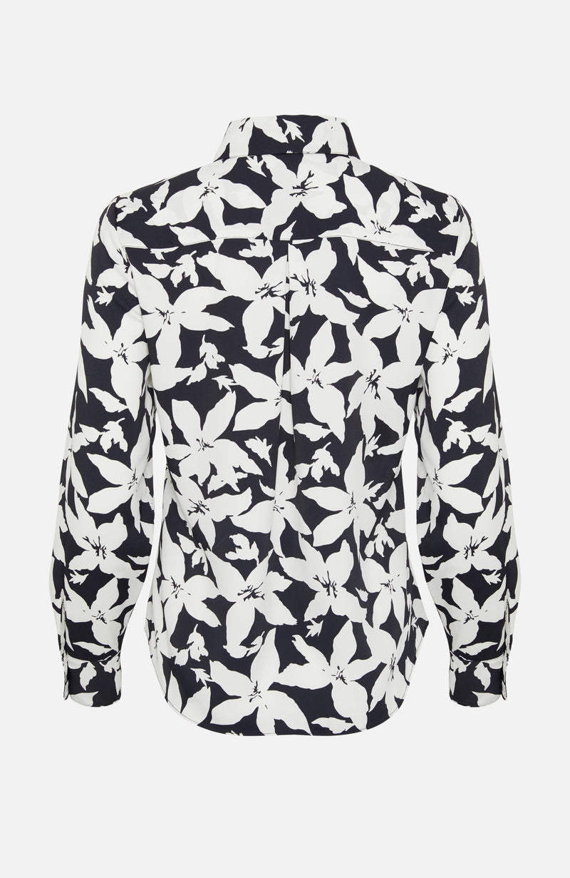 Joie Eastona Black and White Shirt