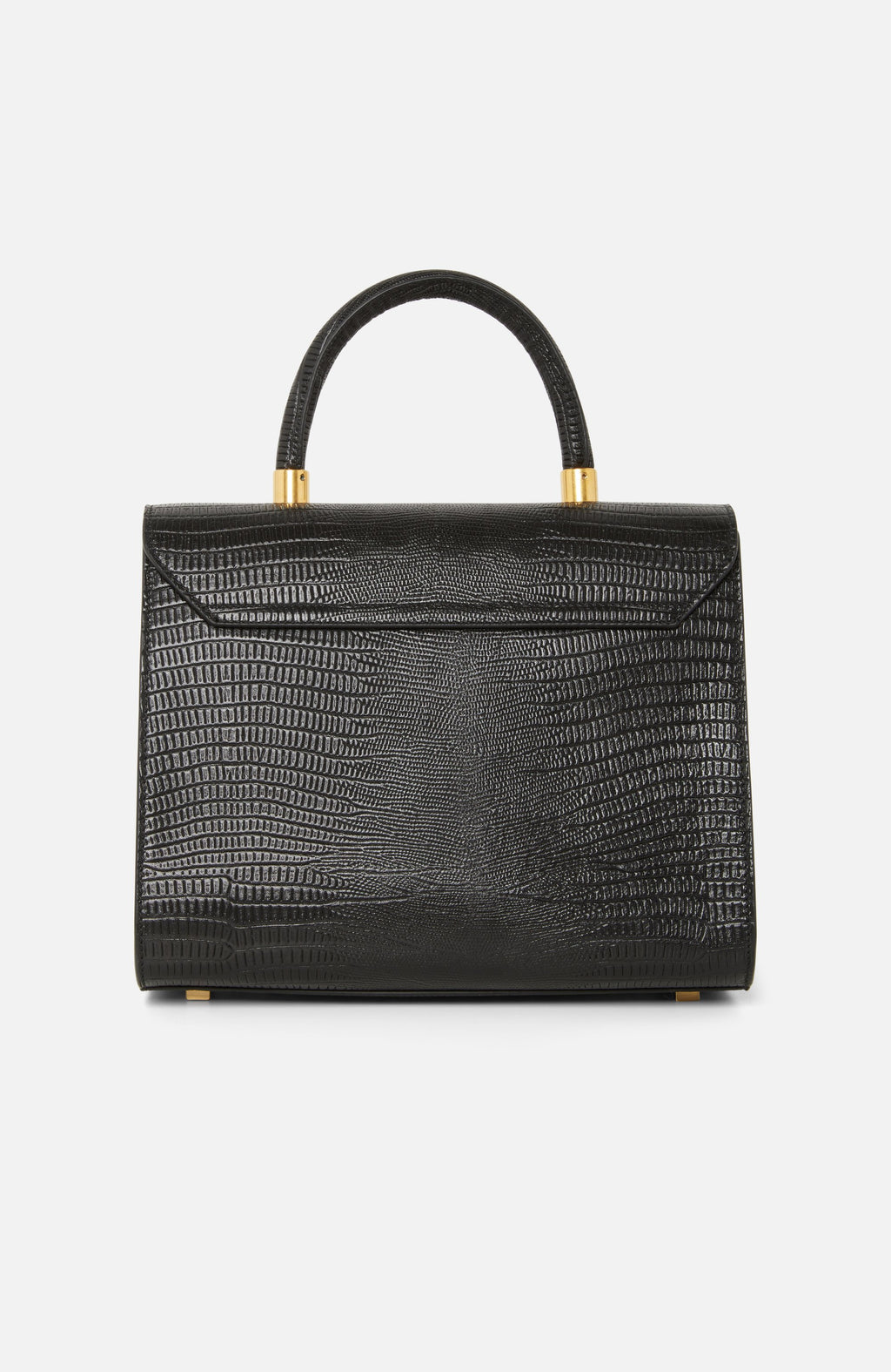 Visone Angie Black Printed Leather Mini Bag
