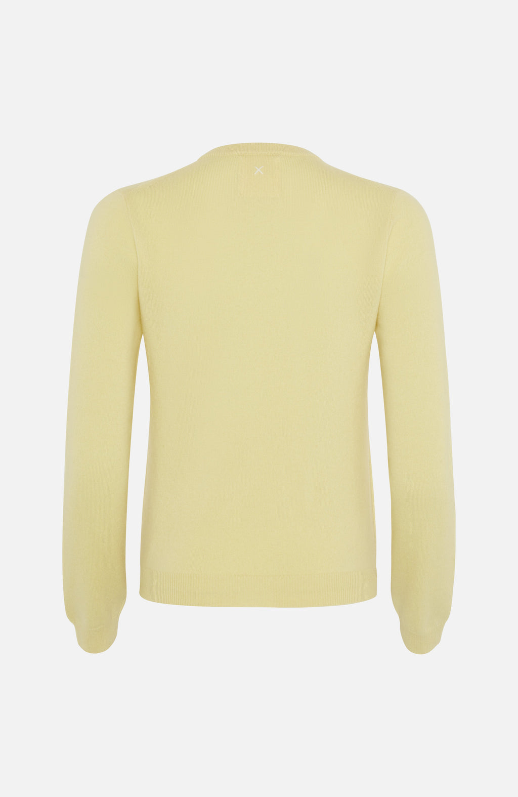 Republic Of Cashmere Round Neck Yellow Sweater