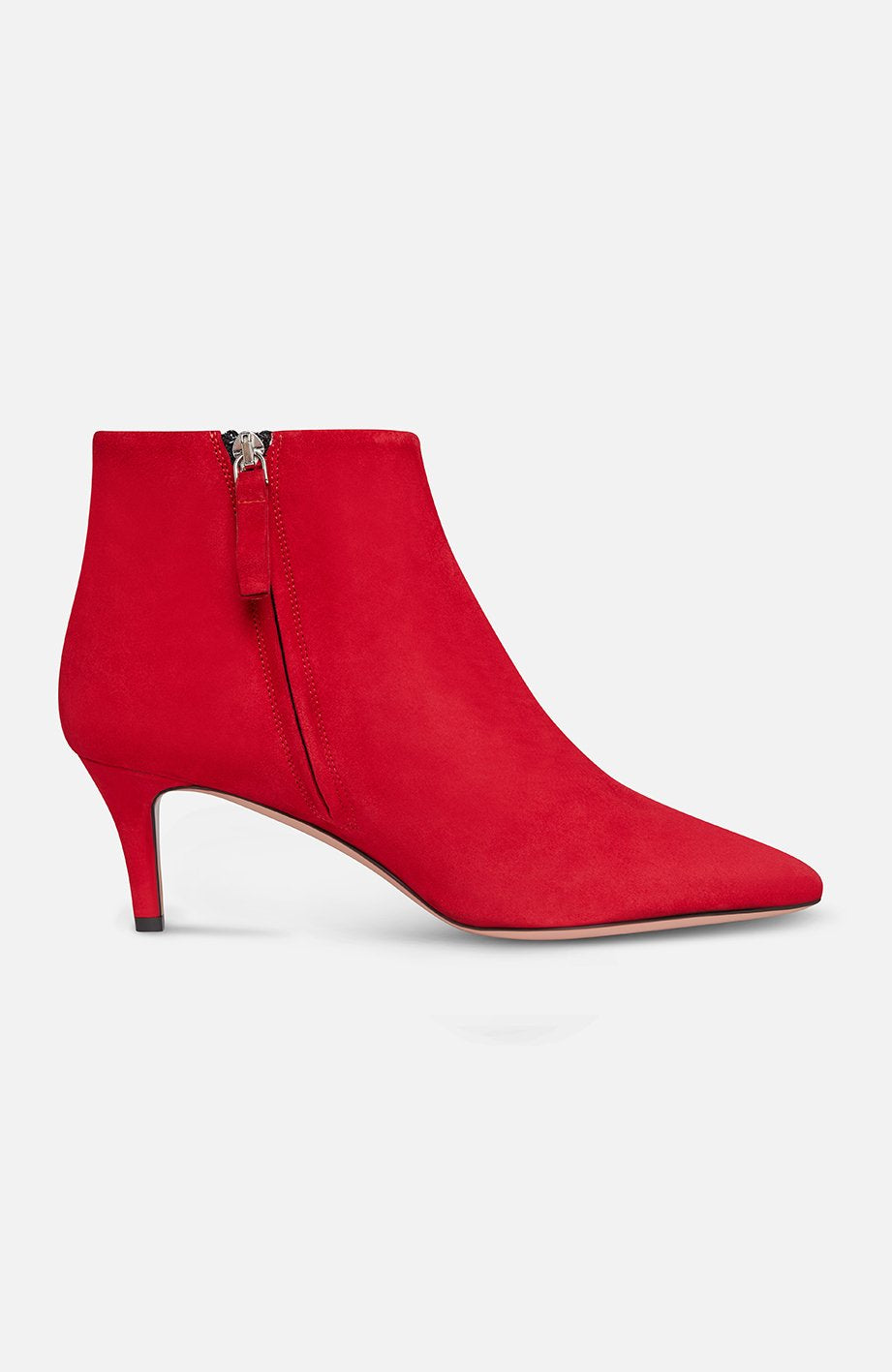 Parosh Sinshoe Red Ankle Boots