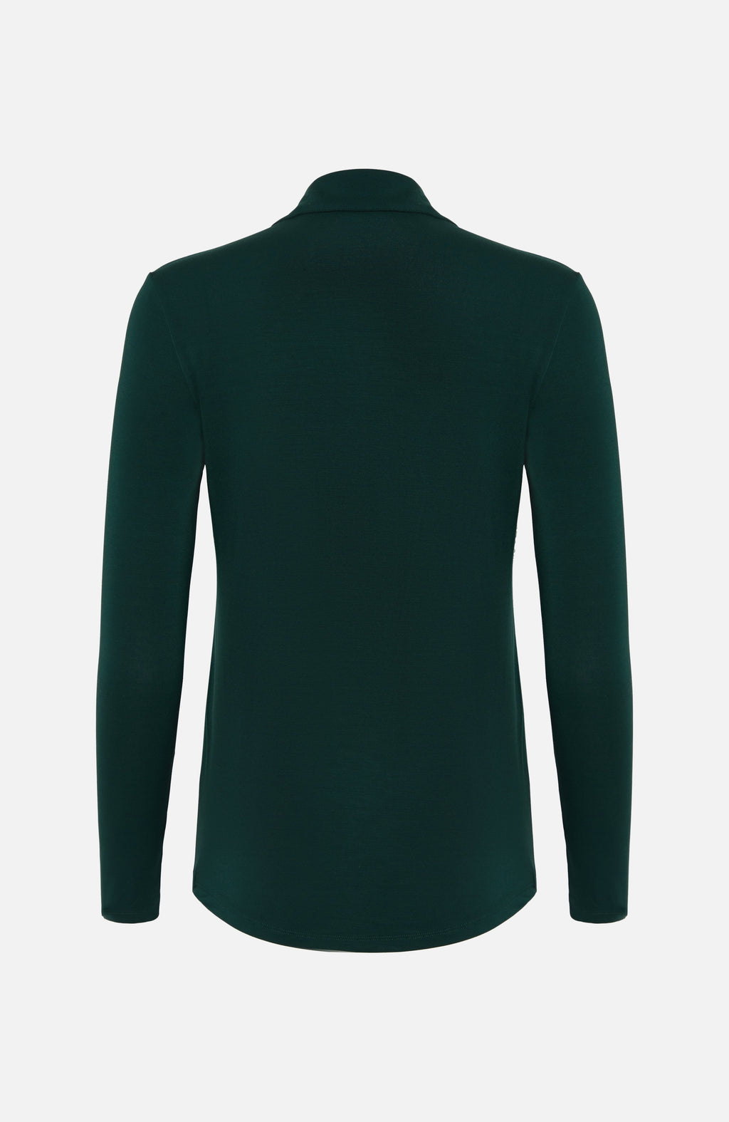 Majestic Filatures Green Button-V Blouse