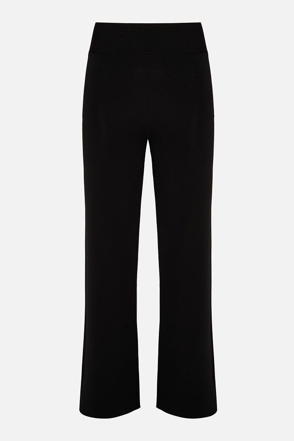 Parosh Black Soft Trouser
