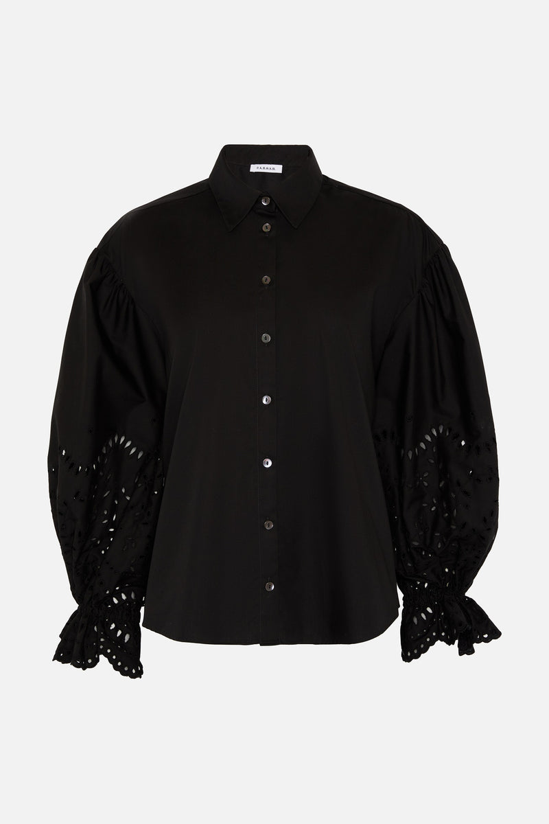 Parosh Cosan Shirt in Black