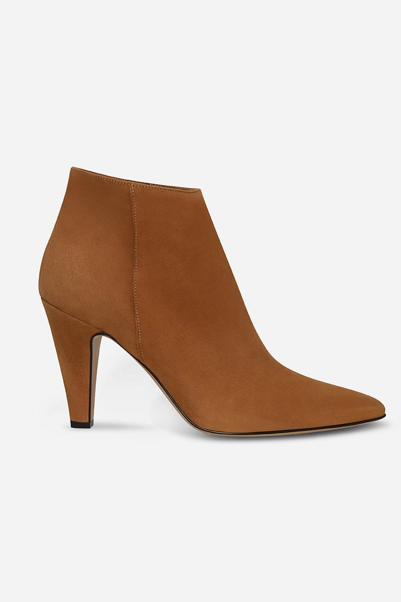 Atelier Mercadal Rita Camel Ankle Boots