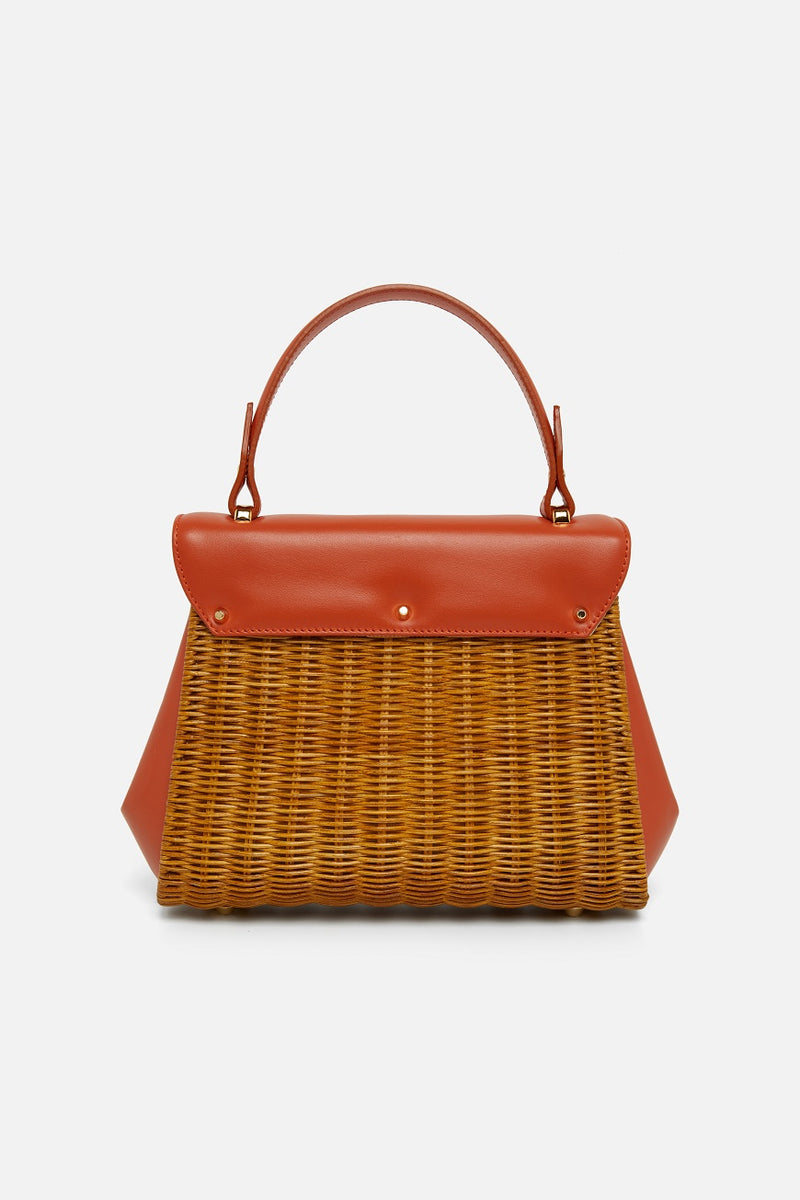 Capaf Honey Mandarino Handbag