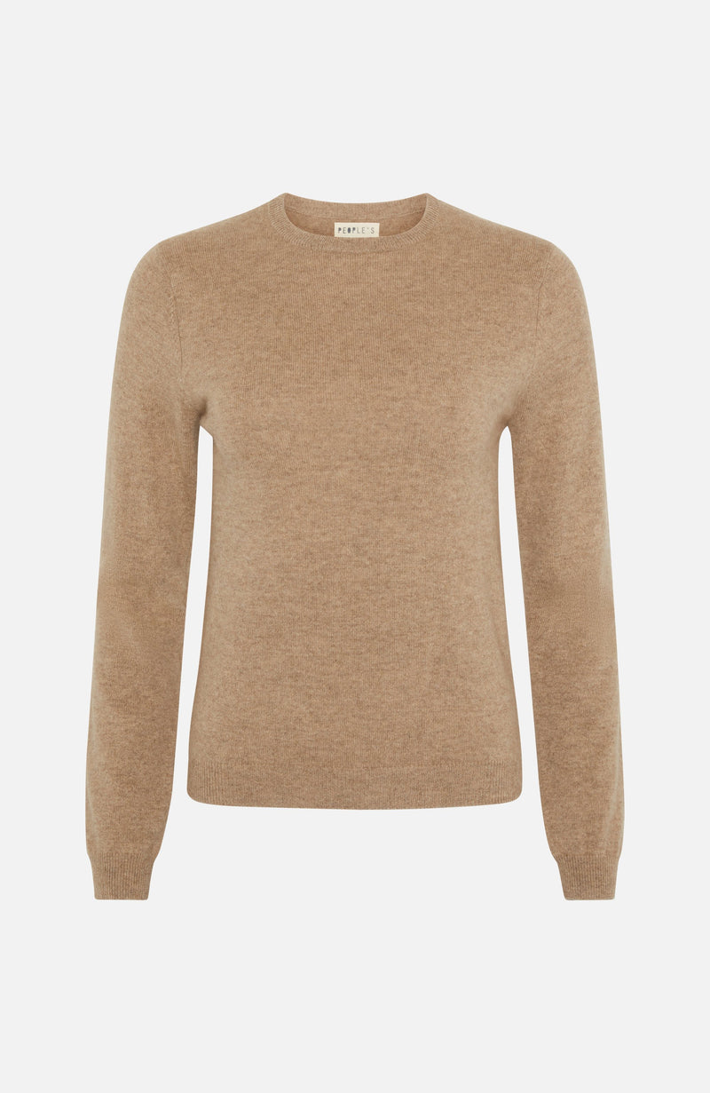 Republic Of Cashmere Round Neck Biscotti Sweater
