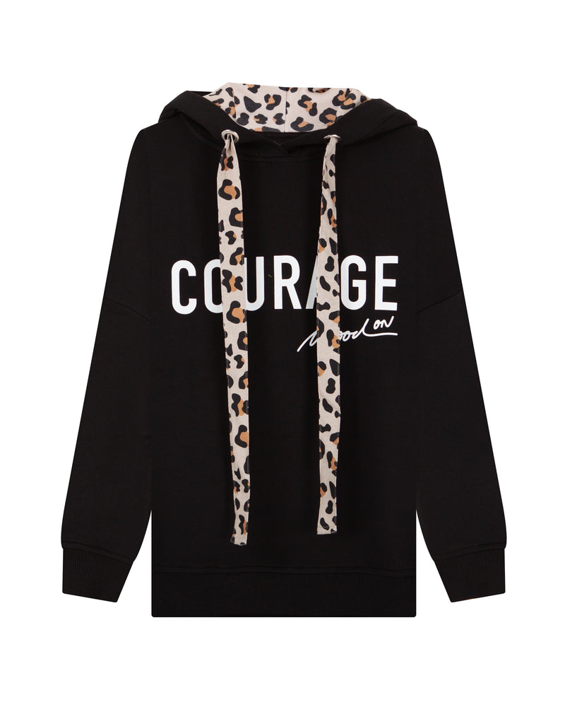 Quantum of Courage Black Hoodie