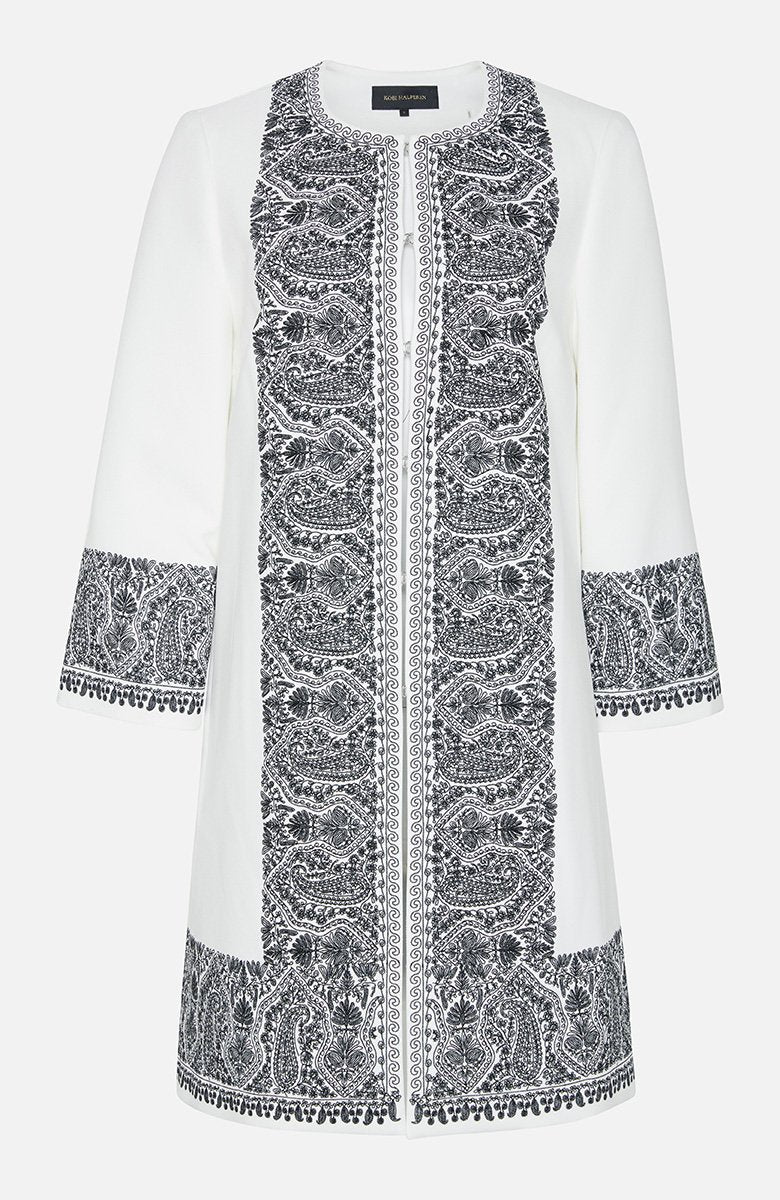 Kobi Halperin Marta Embroidered Coat