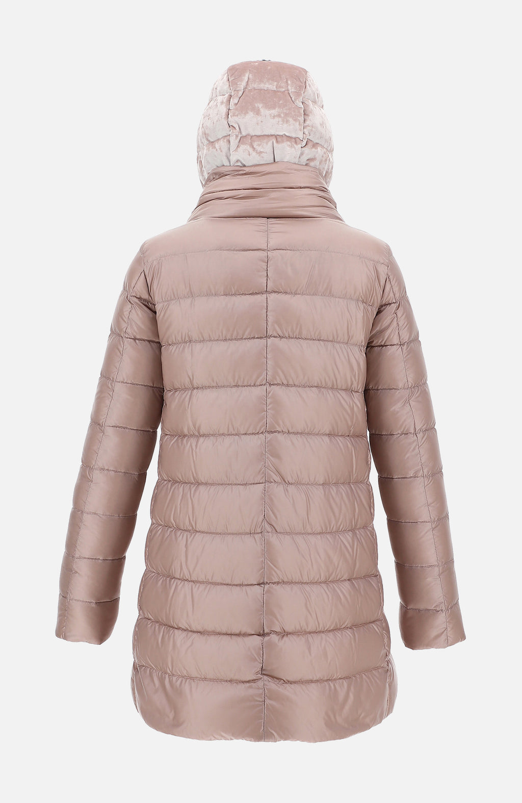 Herno Pink Ultralight A-Shape Puffer Jacket