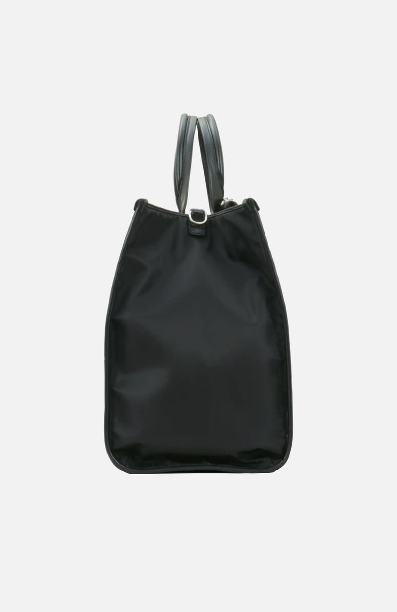 Hogan Black Large Shopping Bag