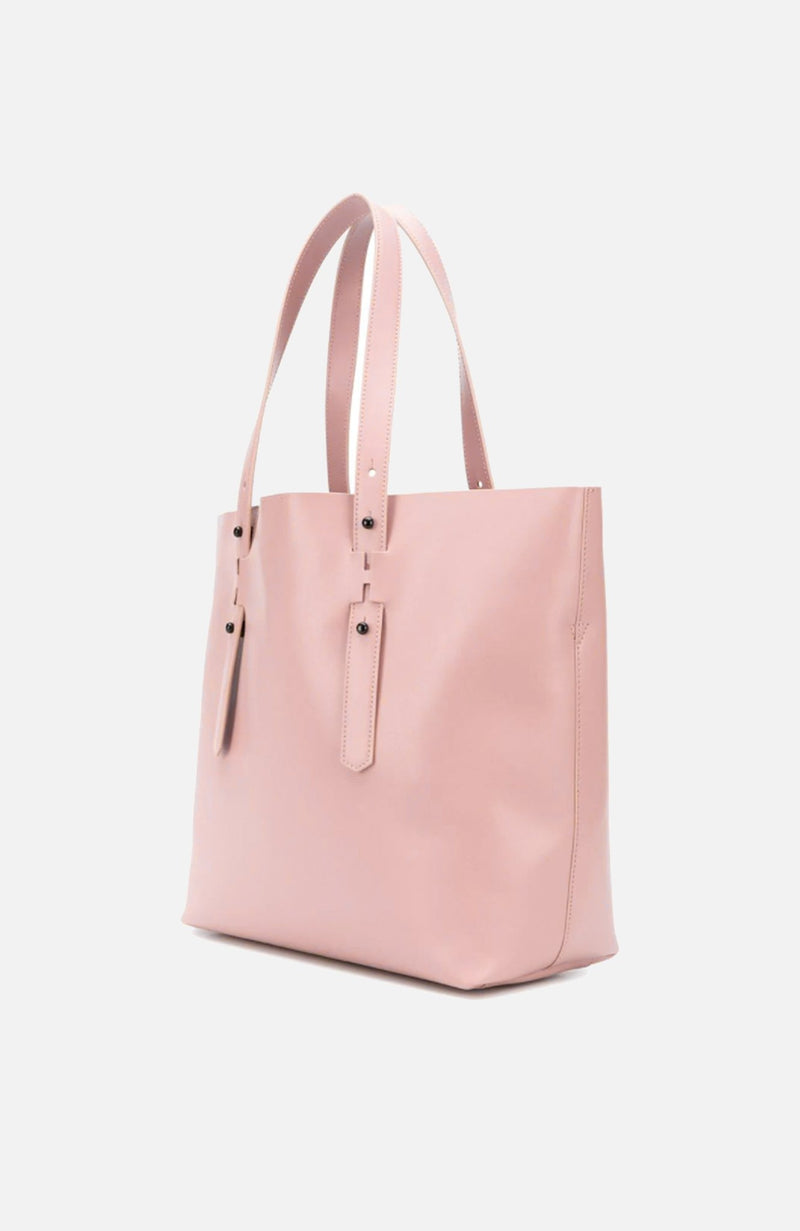 Hogan Tan Leather Shopping Bag