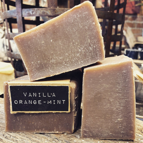 Vanilla Orange-Mint Handcrafted Natural Soap